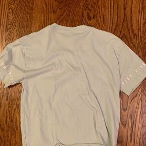 PINK Victoria's Secret Tops - PINK Baby Blue Sparkly Short Sleeve Tee